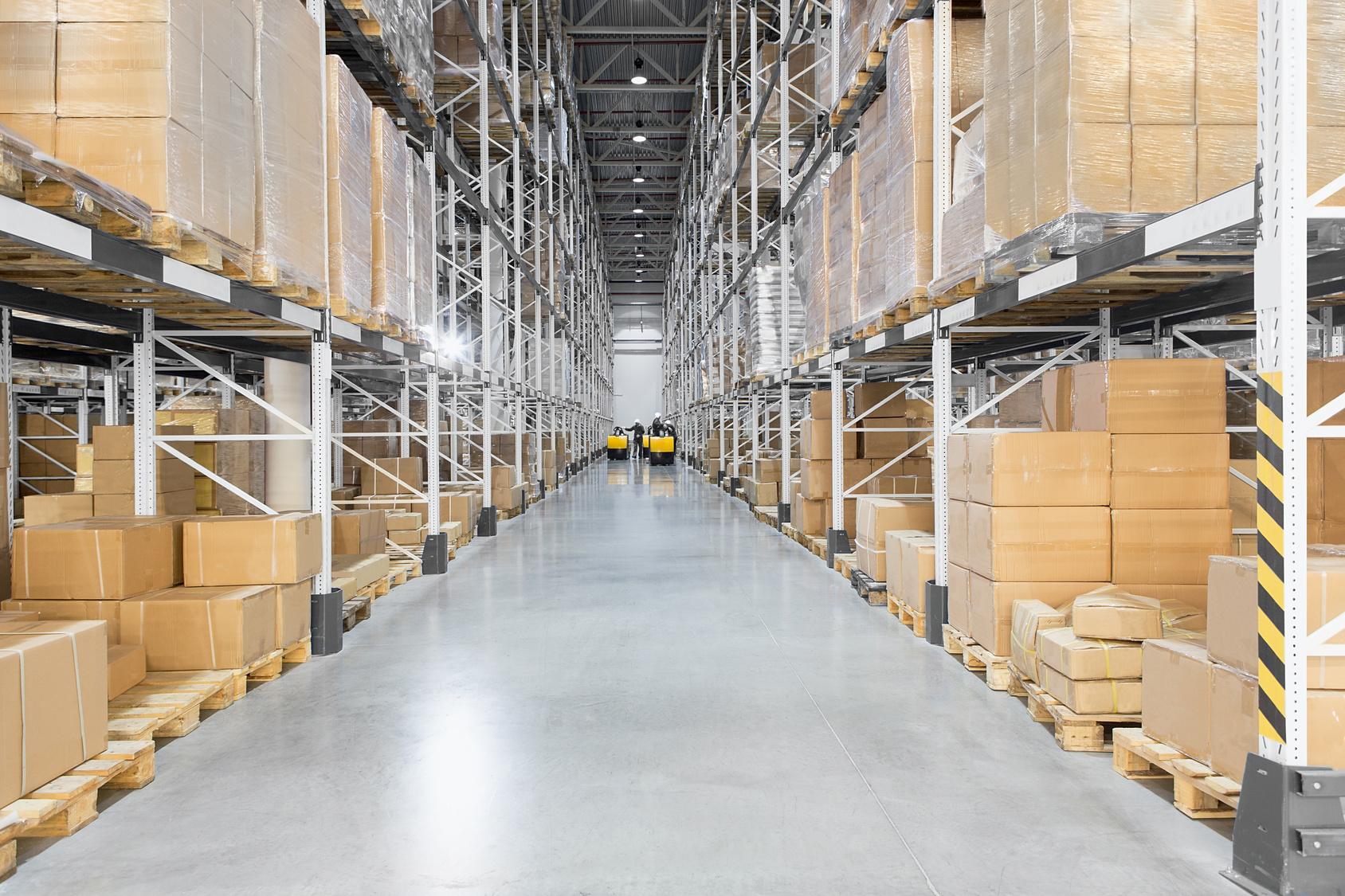 Система вентиляции в складских помещениях