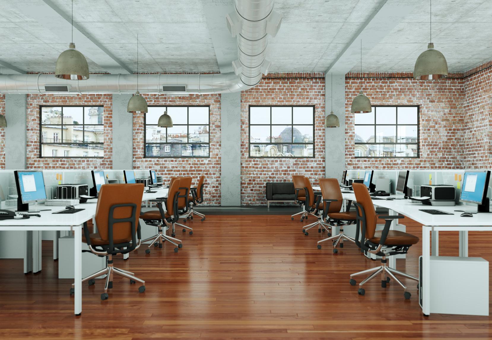 Система вентиляции в офисных помещениях