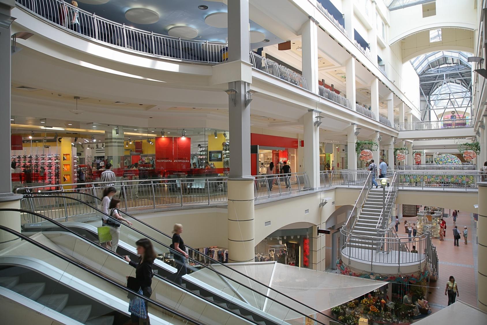 Вентиляция в торговом центре
