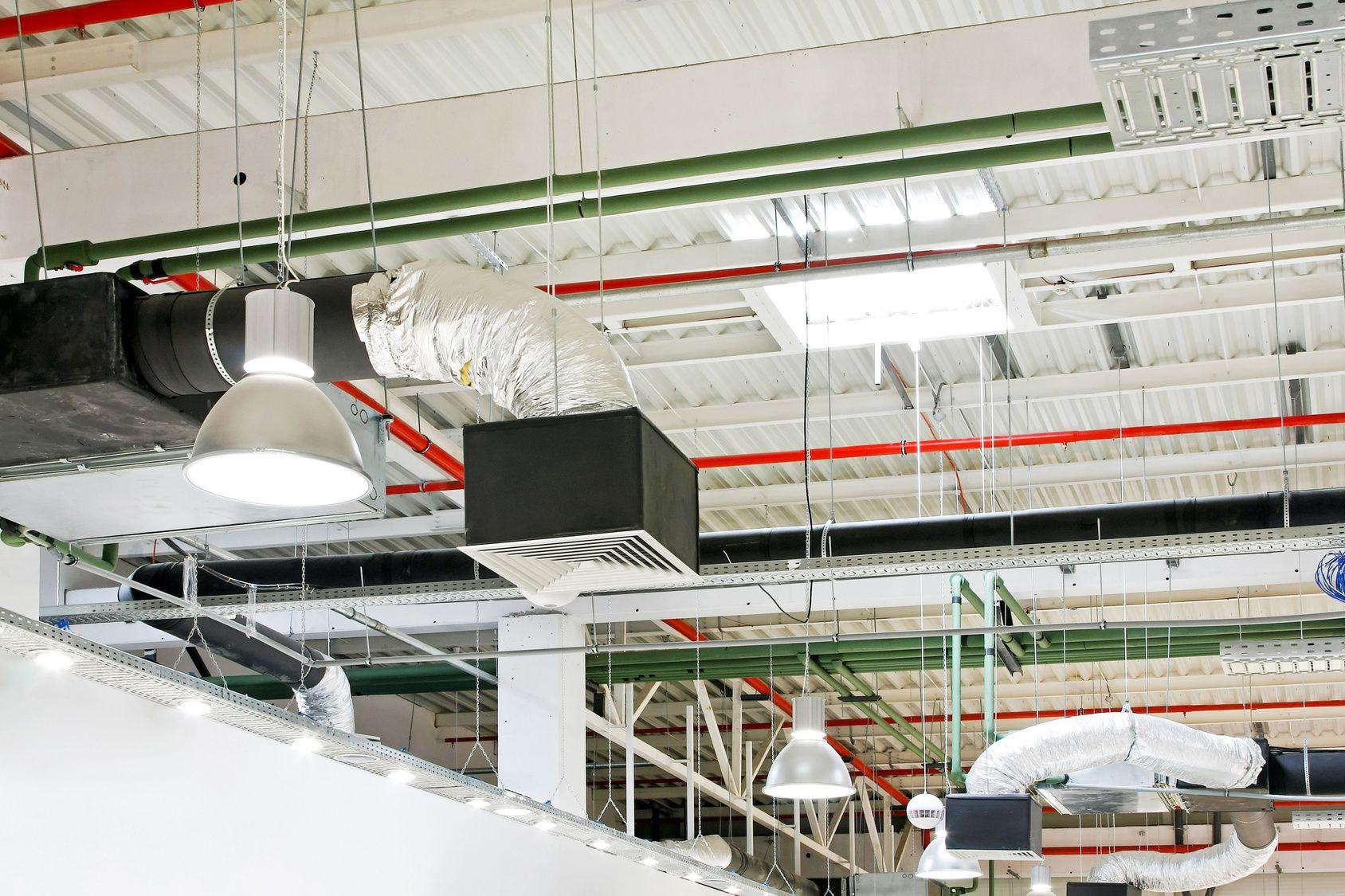 Вентиляция на предприятии: приточная, вытяжная, монтаж под ключ.